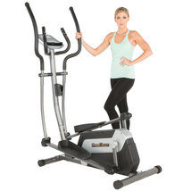 NEW! Fitness Reality Magnetic Elliptical Trainer with Target Workout Com... - $549.99
