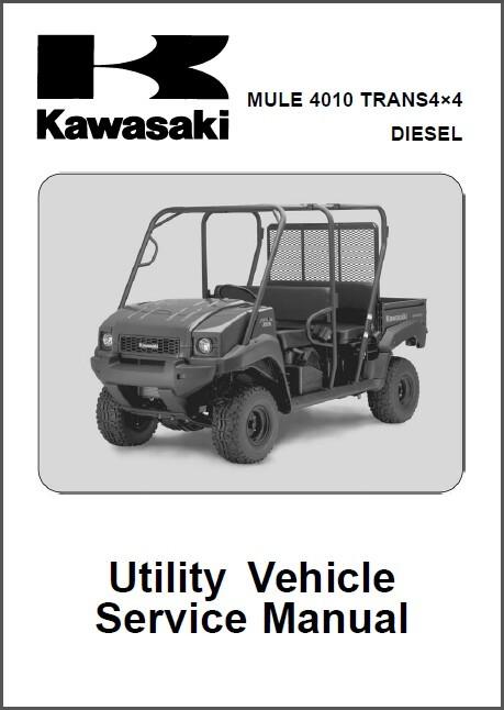 2009 2013 kawasaki mule 4010 trans 4x4 and 50 similar items rh bonanza com Kawasaki 3010 Mule Service Manual Kawasaki Mule Wheels