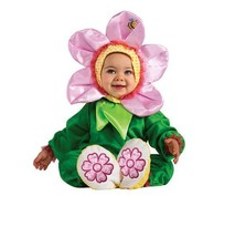 Pink Pansy Infant Halloween Dress Up / Role Play Costume Pageant Flower ... - $16.83
