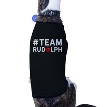 #Team Rudolph Pet T-shirt Cute Christmas Gifts For Small Dog - $14.99