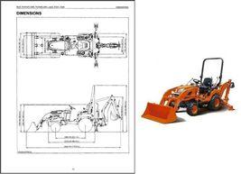 Kubota BX25 BX25D Backhoe Loader Service Manual on a CD - $12.00