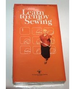 Learn to Enjoy Sewing VHS - $9.99