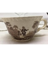 Mason's Watteau teacup brown transferware - $2.97
