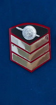 Police Sergeant Pol.Sgt. Royal Thai Police Rank Insignia Chevron Badges  - $7.92
