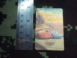 PIXAR CARS movie poster magnet 5 October 2006  - $0.98