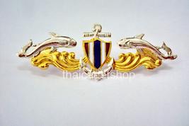 Navy Seal Royal Thai Navy Force Metal Badge Pin Branch - $9.90