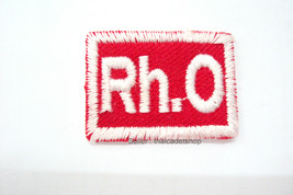 Medical Military Rh.O Magic Blood Type Patch Army Air Force Navy Blood Patch - $2.97