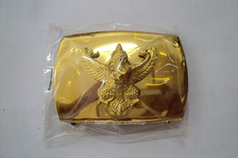 Royal Thai Air Force belt buckle Soldier gold color RTAF Buckle  - $9.90