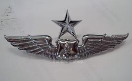 ROYAL THAI AIR FORCE ARMAMENT METAL WING 2nd DEGREE BADGE PIN  - $9.80