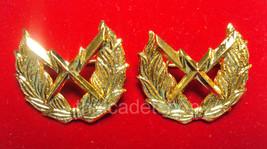 Royal Thai Air Force COMUNICATION COLLAR PINS BADGE Unit insignia 1 PAIR - $8.91