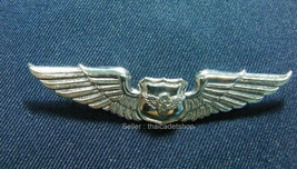 ROYAL THAI AIR FORCE TRANSPORTATION METAL WING 3rd DEGREE BADGE PIN - $7.92