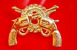 Royal Thai army Military Police Battalion Soldier metal BADGE PIN Thai M... - $8.91