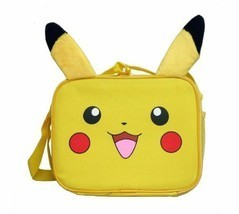 Pokemon Pikachu School Lunch Bag Insulated Snack Bag with Plush Ear - $15.88