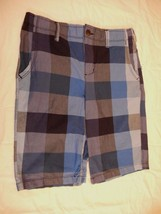 Boy's Arizona Chino Shorts Bold Navy Size 16 Husky New W Tags - $18.80