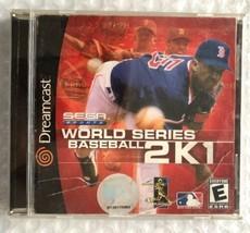 ☆ World Series Baseball 2K1 (Sega Dreamcast 2000) Complete in Case Game ... - $5.50