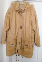 Lloyd Elliots Leather Jacket Coat Country Club Avanti Outerwear Toggle H... - $129.95