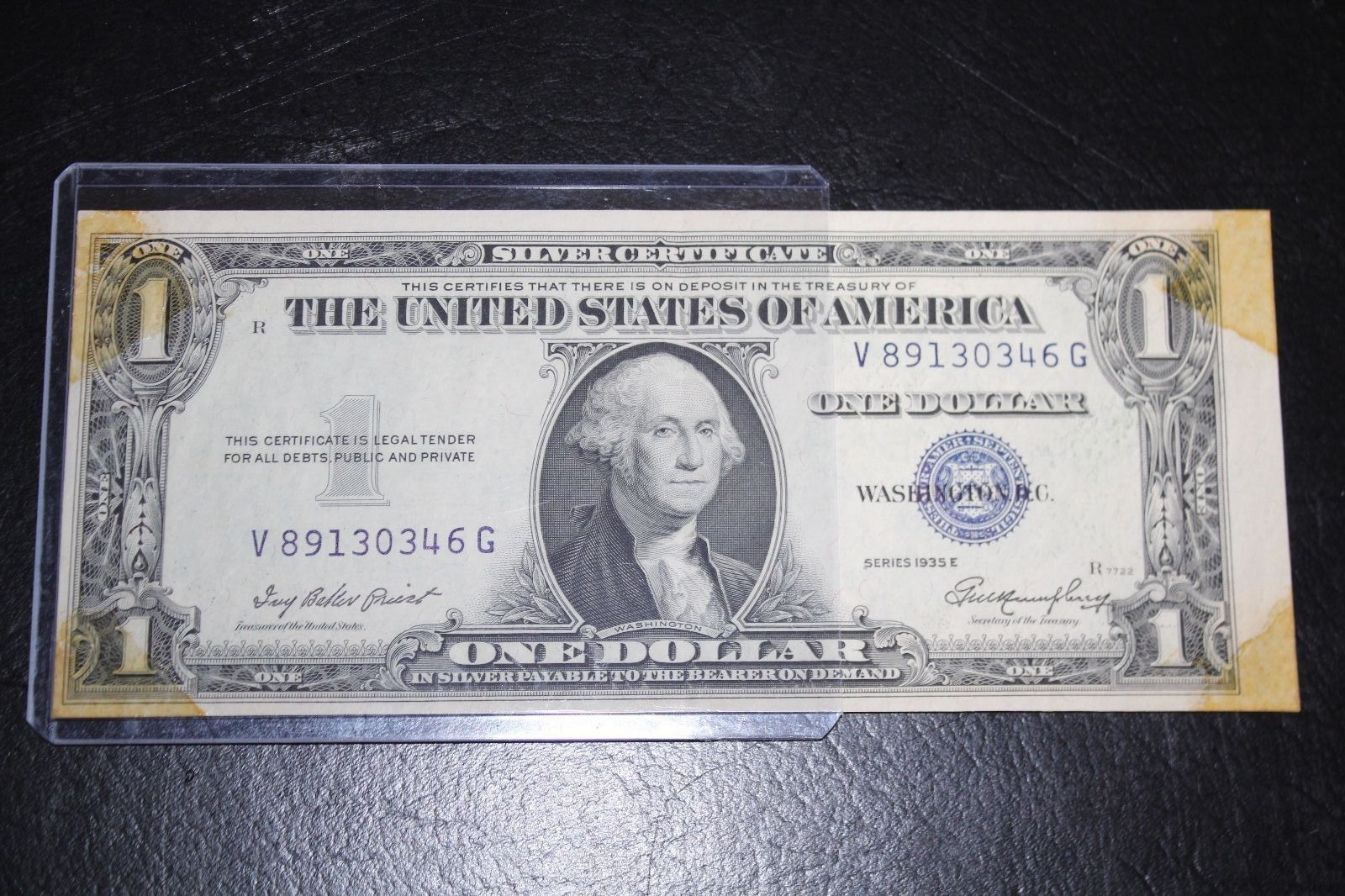 Error 1935e 1 silver certificate note one and similar items 1betcityfo Images