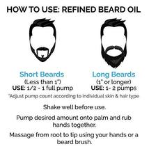 ZEUS Refined Beard Oil - Best Leave In Concentrated Moisturizing Softener & Cond image 7