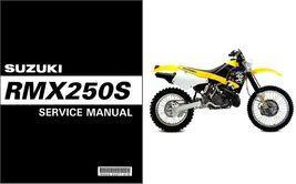1998 1999 Suzuki RMX250S Service Repair Manual CD - $12.00