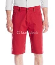 Levi's 569 Men's Cotton Loose Straight Denim Shorts 355690208 Red - $31.50