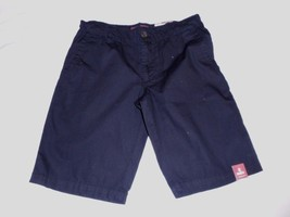 Boy's Arizona Chino Shorts  Black Size 8 Regular New W Tags - $16.82