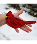 Northern Cardinal wild bird ornament hanging ac... - $25.00