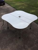 """Herman Miller 53""""White Laminate Work/Study Tabl... - $280.49"""