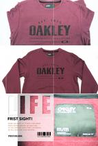 OYPRDRMM27 Oakley Dark Red Sweater Pullover Regular Fit Hoodie Men M Medium Size - $49.99
