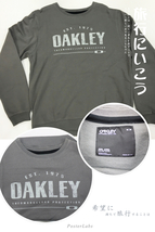 OYPRGYMM28 Oakley Dark Grey Sweater Pullover Regular Fit Hoodie Men M Size - $49.99