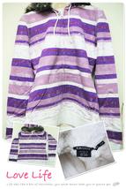 OYLFCPLS29 Oakley Cosmo Purple Linear Fleece Front Zip Slim Fit Hoodie Lady S - $89.99