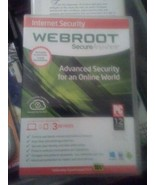 Webroot SecureAnywhere Internet Security - Full Version for Windows & Ma... - $14.01