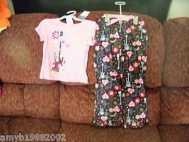 Sleepwear 2PC Love Pink Guitar Pajama's Size 4/5 Girl's NEW - $20.47