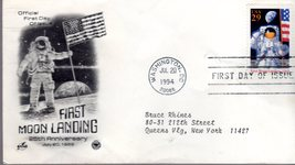 Stamps  U. S. Postage First Day of Issue - First Moon Landing  - $4.50