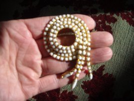 Vintage Brooch Pins White Milk Glass Rhinestone Gold Tone (2)  image 5