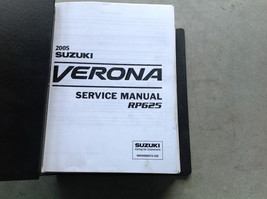 2005 Suzuki Verona Service Shop Repair Workshop Manual RP625 Dealership - $98.95