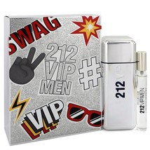 212 Vip by Carolina Herrera Gift Set -- for Men - $99.95