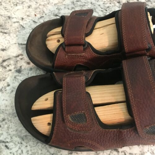 EARTH SPIRIT sun II MENS BROWN FISHERMEN SPORTS Leather Sandals 11 image 3
