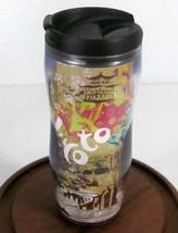 STARBUCKS COFFEE COMPANY 2007 KYOTO JAPAN 12 oz PLASTIC LUCY COFFEE TUMB... - $42.95