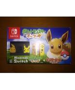 Nintendo Switch Pokémon: Let's Go, Eevee! + Poké Ball Plus Accessories S... - $759.04