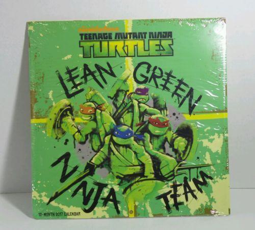Nickelodeon Teenage Mutant Ninja Turtles 12 months Calendar Still in Wrapping