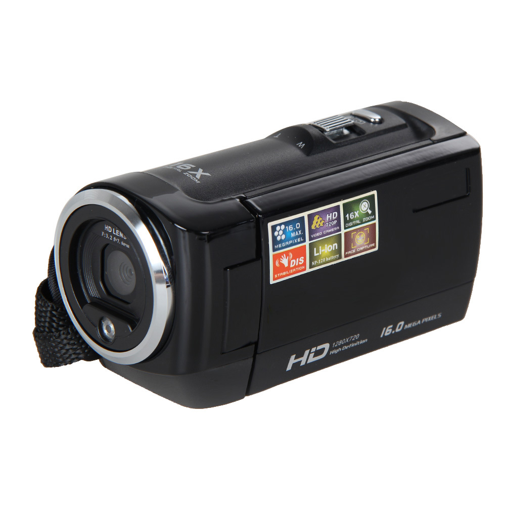 Full Hd 720p 16 Mp Automatic Digital Camera Camcorder Dv