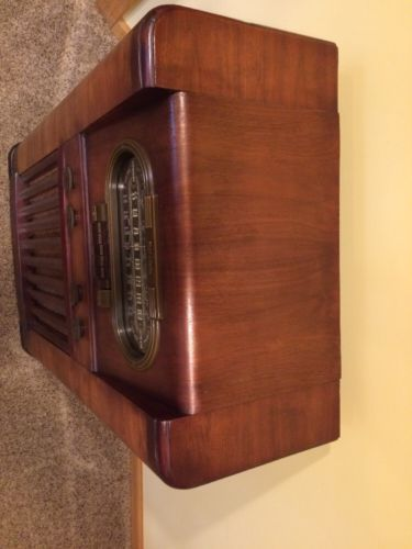 RCA Model 110K Console Radio- Race Track and 50 similar items