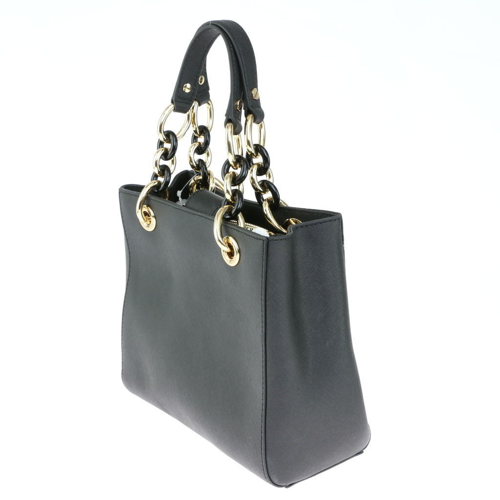 26661adce00a0a Black Michael Kors Purse With Silver Hardware | Stanford Center for ...