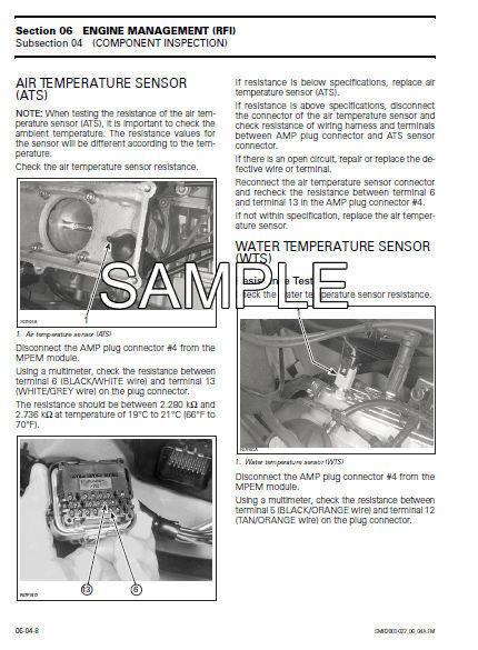 2002 SEADOO JET BOATS SPEEDSTER CHALLENGER SERVICE REPAIR WORKSHOP FSM MANUAL