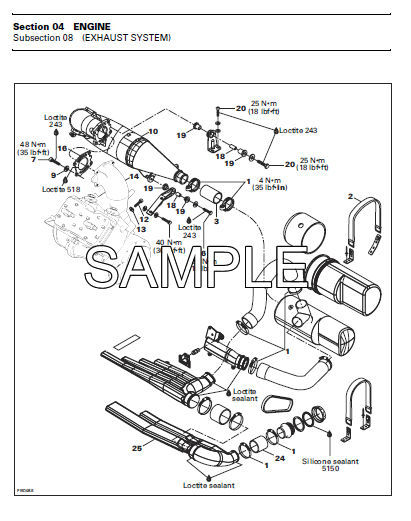 1997 Seadoo Repair Manual : Seadoo jet boats speedster sposter challenger explore