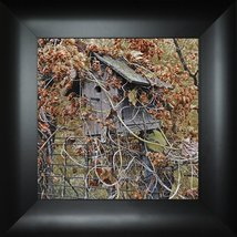 Wrapped in Color By Todd Thunstedt 18x18 Floral Landscape Birdhouse Fall... - $69.00