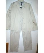Gap Suit Separates Blazer Jacket Pants 6 Beige Khaki Tan Womens Nice Wor... - $100.00