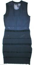 New Womens $535 Rag & Bone Navy Blue Dress Sheer Knit Marbella Medium M ... - $214.00