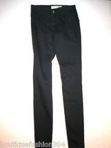 New Womens $230 J Brand Hussein Chalayan Jeans 25 X 33.5 Black Skinny Ta... - $52.00