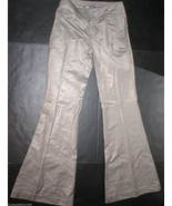 New $215 Womens 26 7 for all mankind Pants Super Flare Trouser Mocha Sat... - $89.00
